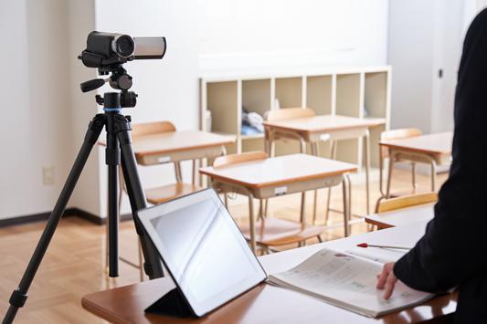 録画配信のオンライン授業